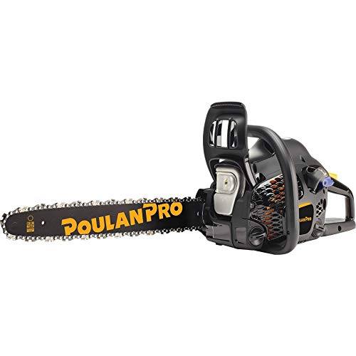 Poulan Pro 18inch Bar 42CC 2 Cycle Gas Powered Chainsaw (Renewed)