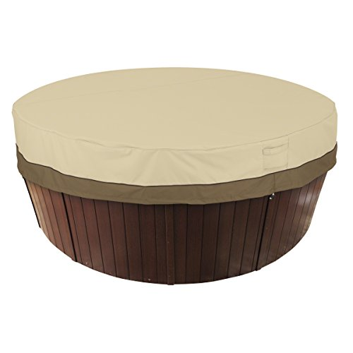 Classic Accessories Veranda Water-Resistant 84 Inch Round Hot Tub Cover