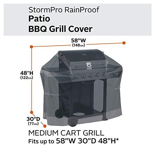 Classic Accessories StormPro Waterproof 58 Inch BBQ Grill ...