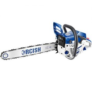 ORCISH 52cc 2-Cycle 18-Inch Gas Powered Chainsaw (52CC)