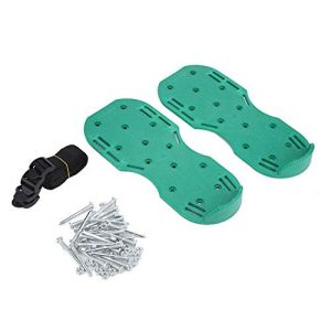 TOPINCN Multi Lawn Aerator Shoes Heavy Duty Spiked Aerating Lawn Sandals Garden Yard Lawn Soil Spike Sandals