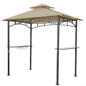 Garden Winds Replacement Canopy for The Lighted Grill Gazebo