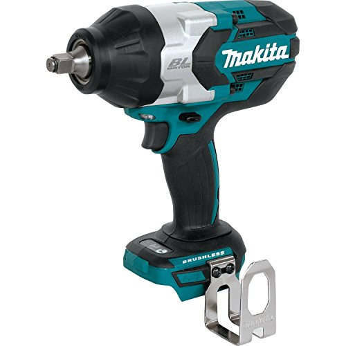 """Makita XWT08Z LXT Lithium-Ion Brushless Cordless High Torque Square Drive Impact Wrench, 18V/1/2"""""""