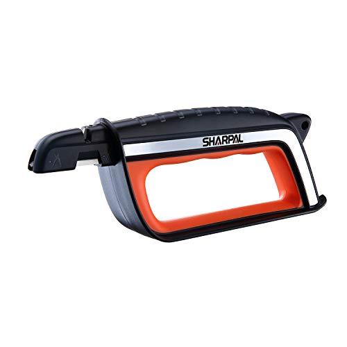 SHARPAL 103N All-in-1 Knife, Lawn Mower Blade, Axe, Machete, Pruner Shear Scissors Multi-Sharpener & Garden Tool Sharpener