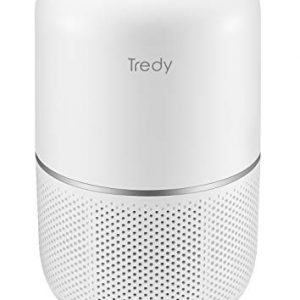 TREDY Hepa Air Purifier for Home 200 Sq.ft Large Room with Air Quality Sensor, Filters The Air, Removes Dust/Smoke/Odor/Pollen/Pet Dander and Other Particles