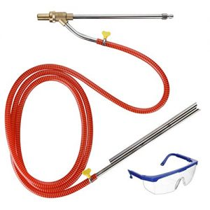 "M MINGLE Pressure Washer Sandblaster Kit, Wet Sandblasting Attachment, 1/4"" Quick Connect, 5000 PSI"