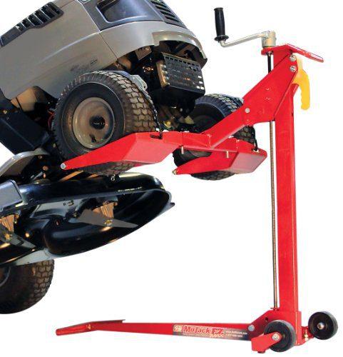 MoJack EZ Max - Residential Riding Lawn Mower Lift, 450lb Lifting Capacity