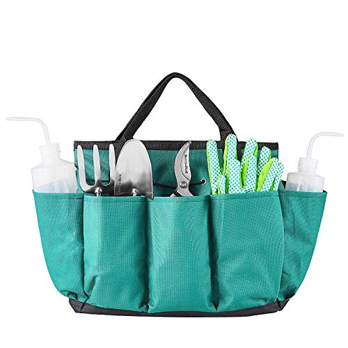 Berry&Bird Garden Tool Set for Kids- Watering Can Garden Gloves Mini Trowel & Fork with Bag - Preschool Outdoor Toys Boys Girls 6 Pieces for Years Stainless Steel Not Plastic