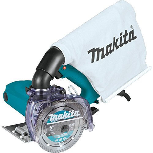 """Makita 4100KB 5"""" Dry Masonry Saw, with Dust Extraction"""