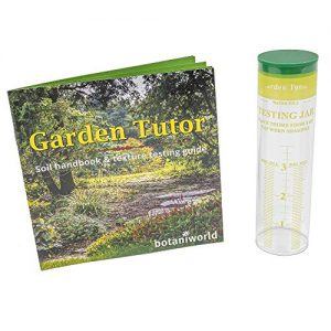 Garden Tutor Soil Texture Testing Jar Kit