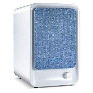 LEVOIT HEPA Air Purifier for Home Bedroom, Small Desktop Air Filter for Allergies and Pets,100% Ozone Free Air Cleaner,Eliminate Smoke Dust Pollen Dander Cooking Odor,LV-H126(Available for California)