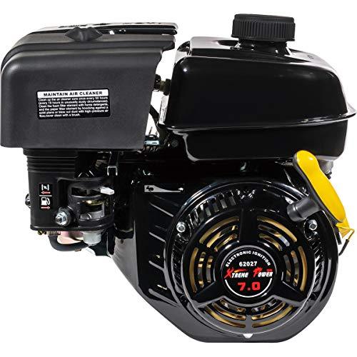 XtremepowerUS 7HP OHV Industrial Grade 4-Stroke Gas Engine Recoil Start EPA Go Kart Log Splitter Lifan Type Engine 212CC