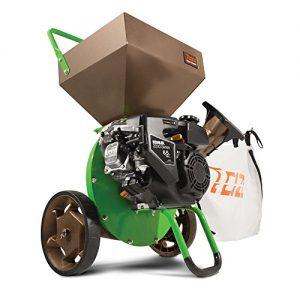Earthquake Tazz K52 Chipper Shredder, 196cc Gas Powered 4-Cycle Kohler Engine, 5 Year Warranty