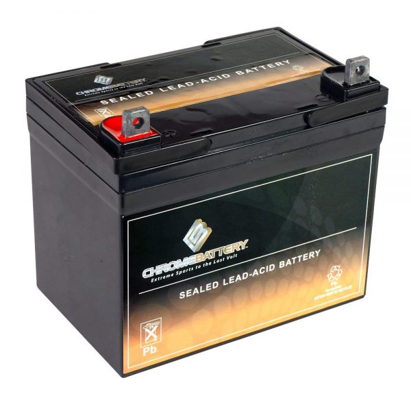 Deep Cycle SLA Replacement Battery 12V 35AH AGM Battery- Replaces Husqvarna