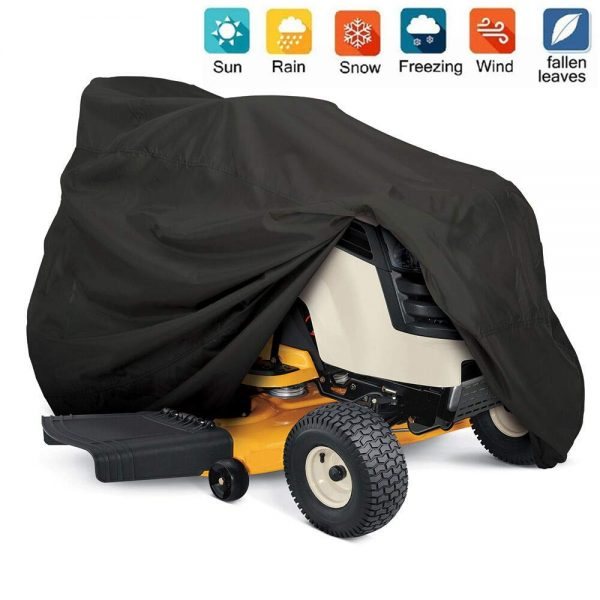Nomiou Outdoors Tractor Lawn Mower Cover Heavy Duty,UV Protection Universal