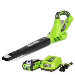 Greenworks 40V 150 MPH Variable Speed Cordless Leaf Blower, 2.0Ah Battery