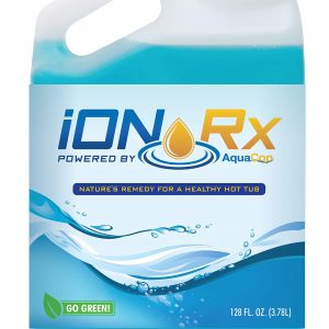 iONRx Hot Tub Sanitizing Treatment - Avoid The Chemicals - No Hot Tub Smells - Great for Sensitive Skin - Low Maintenance - Sanitizes with Ultra Low Chlorine Added - Bromine and Enzyme Alternative