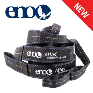 """ENO, Eagles Nest Outfitters Atlas Hammock Straps, Suspension System with Storage Bag, 400 LB Capacity, 9' x 1.5/.75"""""""
