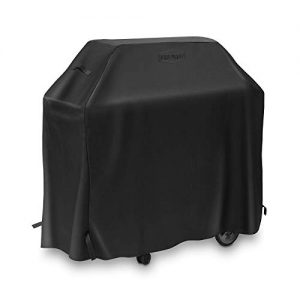 Pure Grill 58-Inch BBQ Grill Cover - Universal Fit for All Barbecue Gas Grill Brands - Heavy-Duty, Waterproof, Fade Resistant Fabric