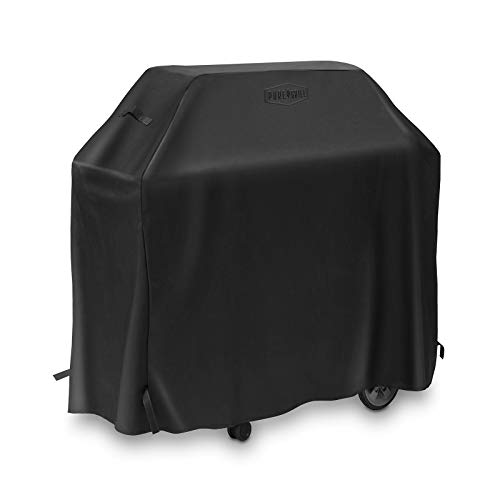 Pure Grill 58-Inch BBQ Grill Cover - Universal Fit for AllBarbecue Gas Grill Brands -Heavy-Duty, Waterproof, Fade Resistant Fabric