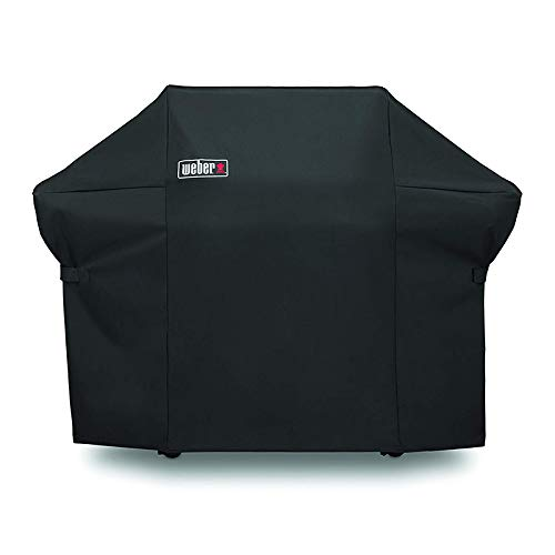 Weber7108 Grill Cover for Weber Summit 400-Series Gas Grills, Premium Grill Cover Come with Storage Bag (66.8 X 26.8 X 47 inches)
