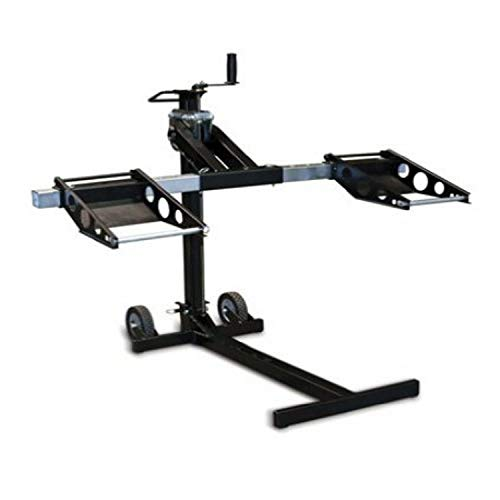 MoJack XT - Residential Riding Lawn Mower Lift, 500lb Lifting Capacity, Fits Most Residential & Zero Turn Riding Lawn Mowers, Folds Flat for Easy Storage, Industry Leading Two-Year Warranty