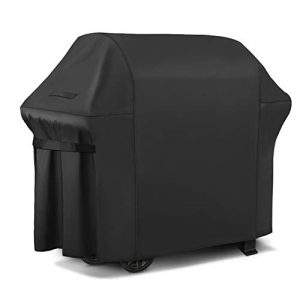 iCOVER Gas Grill Cover-58 inch 600D Canvas Waterproof Fade Resistant Heavy Duty Barbeque BBQ Grill Cover Sized for Weber,Char Broil,Holland, Jenn Air,Brinkmann.G21653