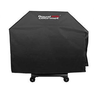 Royal Gourmet BBQ Grill Cover with Heavy Duty Waterproof Polyester Oxford, Small 47-Inch for Weber, Char Broil, Brinkmann, CR4701