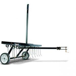 Agri-Fab 40-Inch Tine Tow Dethatcher 45-0294,Black