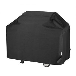 Unicook Heavy Duty Waterproof Barbecue Gas Grill Cover, 60-inch BBQ Cover, Special Fade and UV Resistant Material, Durable and Convenient, Fits Grills of Weber Char-Broil Nexgrill Brinkmann and More