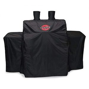 Char-Griller 3055 3-Burner Gas Grill Cover, Black