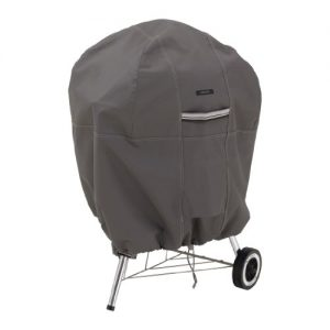 Classic Accessories Ravenna Water-Resistant 26.5 Inch Kettle BBQ Grill Cover