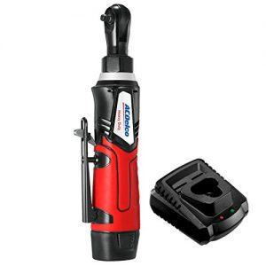 "G12 Cordless 1/4"" Ratchet Wrench 30 ft-lbs 240 Rpm Tool Set with 1 Li-ion Batteries - Regular Charger, ARW1207"