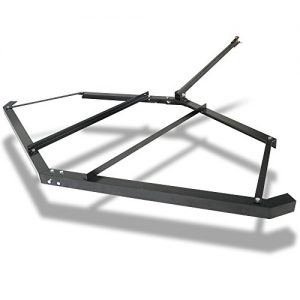 Titan Ramps Tow Behind Drag Harrow for ATV, UTV, and Garden Tractor with Pin-Style Hitch
