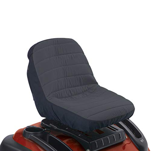 Classic Accessories Deluxe Riding Lawn Mower Seat Cover, Small