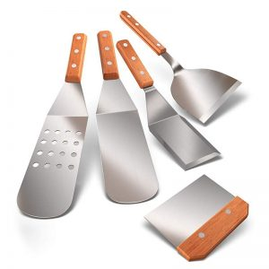 Stainless Steel Metal Shovel with Wooden Handle