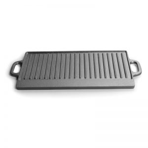 IALJ Top Cast Iron Uncoated Rectangular Double-Sided