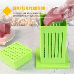 Meat Skewer Maker Box BBQ 49 Holes Meat Skewer Kebab