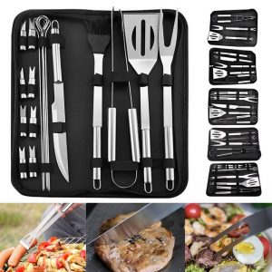 Stainless Steel BBQ Tools Set Barbecue Grilling Utensil