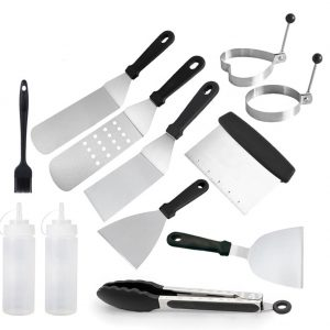 Barbecue Tool Set Griddle Spatula Grilling Accessories Portable