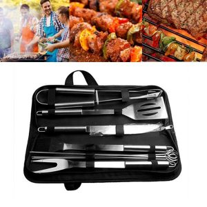 BBQ Stainless Steel Barbecue Grilling Tools Set