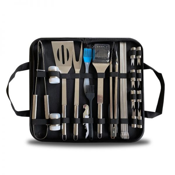 Barbecue Tool Set, 28 Pieces of Stainless Steel Barbecue Set