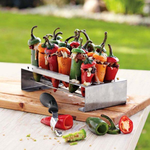 Corer Set Barbecue Chili Pepper Roast 18 Hole Cook