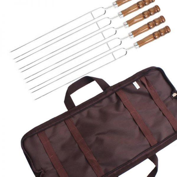 5PCS Barbecue Skewers U-Shaped BBQ Forks Set