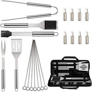 20PCS BBQ Grill Accessories Tools Set