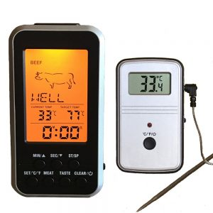 Remote Digital Meat BBQ Thermometer Kitchen