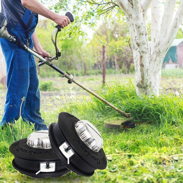 M10 Aluminum Nylon Brush Mower Bump Spool Grass Trimmer