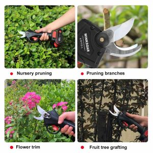 Cordless Electric Pruner Bonsai, Tree Branches Cutter